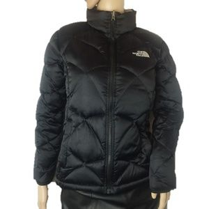 The North Face 550 Black Puffer Jacket